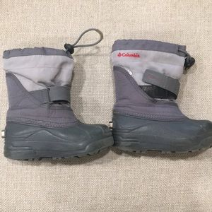 Kids Columbia Snow Boots Size 11